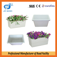 fiberglass planter,large flower pot,high road flower pot