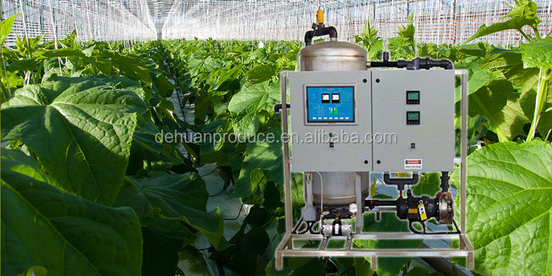 Automatic fertilizer machine integration of water and fertilizer system