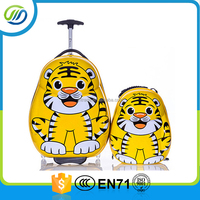 Animal pictures printing hard case abs travel travel luggage bag
