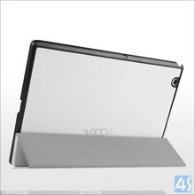 For Sony Xperia Z4 Tablet PC back skin Tablet Ultra Slim Leather Case Stand Cover 10.1""