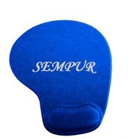 PU Memory foam wrist rest mouse pad with arm rest