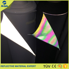 Silver Elastic Refective Fabric/Spandex Reflective Fabric tape