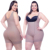 Wholesale plus size open bust wide straps women's body shaper with side zipper