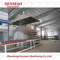 drum flaker particle board machine/cross cutting saw chipboard production line