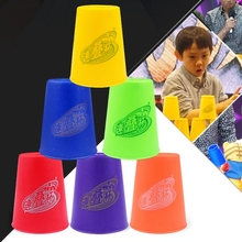 Gift for Children 6 PCS Mixed Colors Speed Stack II Speed Training Sports Stacking Cups