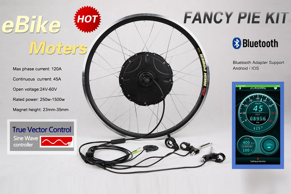 FANCY PIE ! MAX 27MM 1500W CONTROLLER BUILT-IN ELECTRIC BICYCLE MOTOR