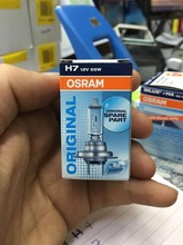 Original Osram H7 12v 55W 64210 halogen light for Auto lamp