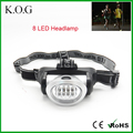 Pupular 3 Modes 8 LED Headlamp with Adjustable Head Strap