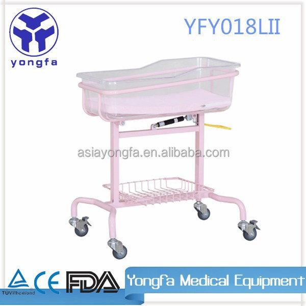 YFY018L(II) Hospital baby cribs with wheels