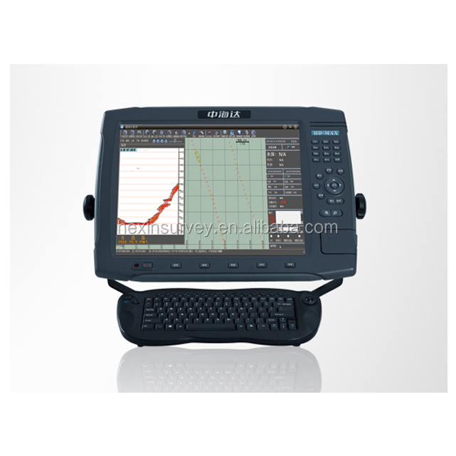 Hi-target echo sounder with gps HD-MAX sampling rate up to 30Hz echo sounder fish finder