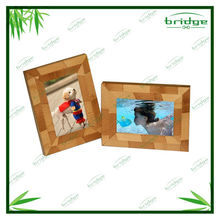 Beautiful bamboo wooden funny photo frames 2013