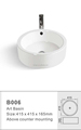 2016 Round counter top art wash basin B006