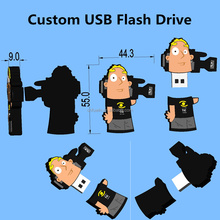 Promotive gift 2GB/4GB/8GB bulk 1GB usb flash drives custom memorias USB