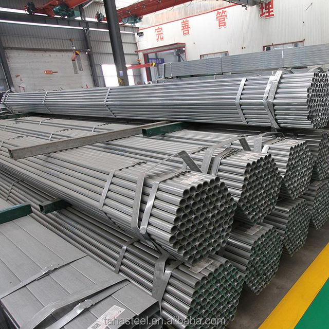 galvanized steel conduit pipe galvanized steel pipe china manufacturer bs1387 en10255 astm a53 b galvanized steel pipe