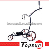 stainless steel Lithium battery electric Golf Trolley