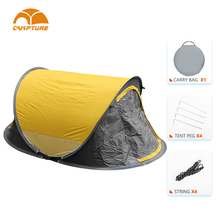 Camping Tent Pop Up Waterproof European Lightweight Easy Instant Pump Up Camping Tent