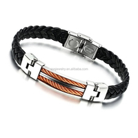 SB0815031 wholesale factory hot sell fashion woman stainless steel bracelet latest jewelry trends