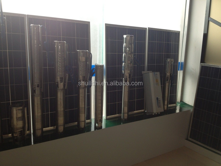 Renewable Energy Solar Photovoltaic System Solar Submersible Pump 240V 3500W DC Solar Water Pump
