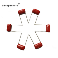 CL21{MEF} 10.0uF 50/63/100VDC 250/160VDC 400VDC Metallized Polypropylene Film Capacitor