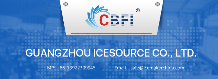 CBFI High capacity automatic square cube ice maker machine 1000kg