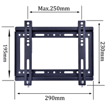 100X100 Wholesale Small Screen 14 26 Inch TV Wall Mount For VESA 75X75