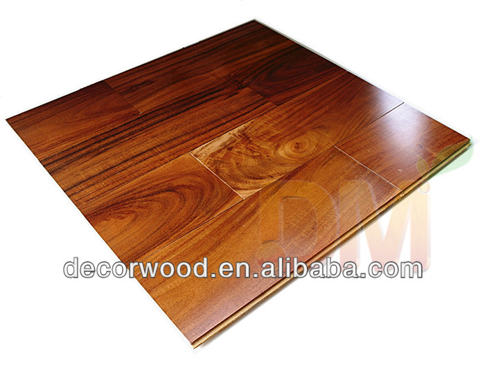 Hot sale smooth acacia surface solid wooden fooring