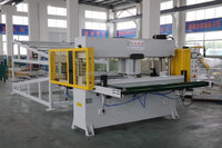 Sandpaper Die Cutting Press Machine with dust collection device