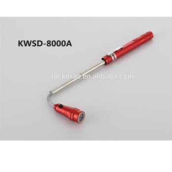 Aluminum 6 Led Flexible flashlight magnetic flashing lights