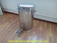 Customizing stainless steel electric beer brew kettle for boiling