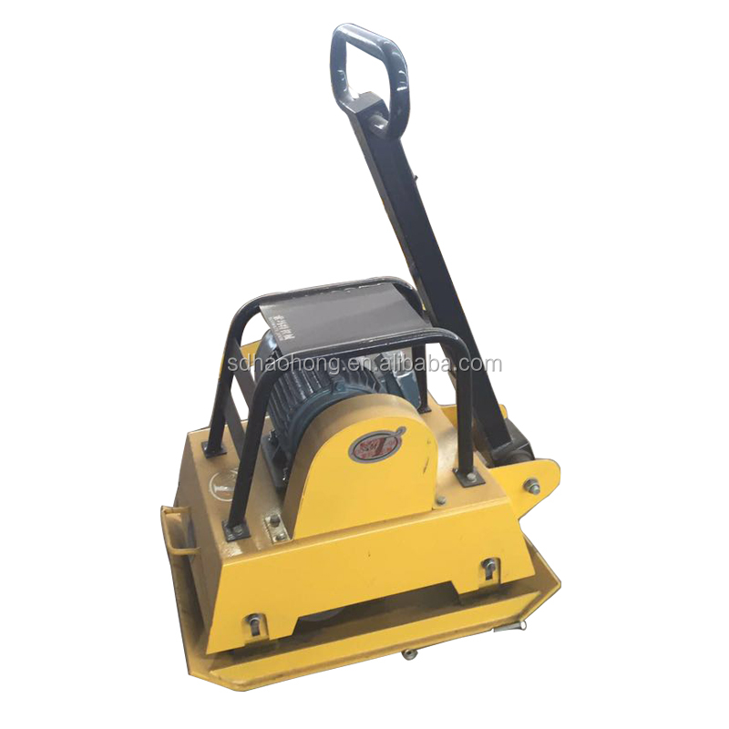 electric vibrating plate compactor single direction ground compactor