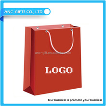 Fast producttion fancy paper gift bag for jewelry wholesale packaging bag