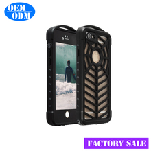 New Outdoor Waterproof Protective Mobile Phone Case For iPhone 6 TPU PC Back Cover Transparent Case