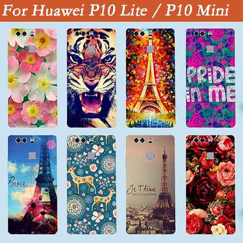 "For Huawei P10 Lite / P10 Mini Cases,2017 New Arrival diy Colored Case For Huawei Ascend P10 Lite / P10 Mini G10 5.2"" Cover Bags"