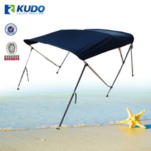 600d Solution Dyed 3 Bow Bimini Top Boat Cover