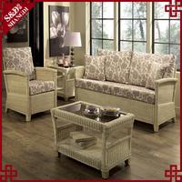 Direct manufacturer indoor rattan bedroom furniture