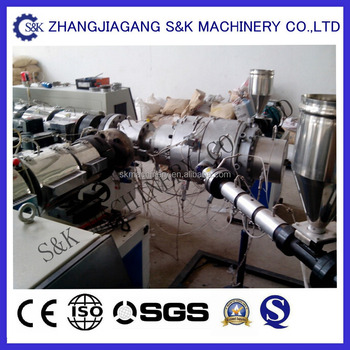 PP-R pipe extruder machine