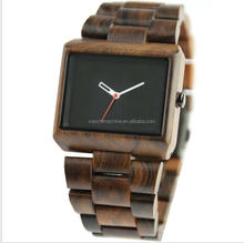 Custom Wooden watch manfactuer personalized Luxury wooden wrist watch