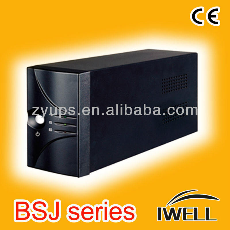 OEM 15min 1000va Home Office Appliance UPS 0.6 PF Uninterruptable Power Supply System AVR Function
