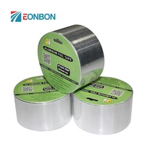 Heat Resistant Aluminum Foil Tape With Free Samples Waterproof Strong Adhesive Solvent Product
