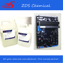hot sale low price flammable retardant AB glue potting compound epoxy resin for PCB protection