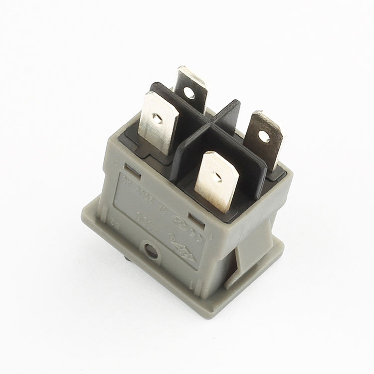 KCD6 High Quality free sample 6a 250v led 4 pin rocker switch wiring