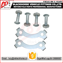 Color Zinc Sprocket Bolt In Motorcycle Spare Parts With High Quality