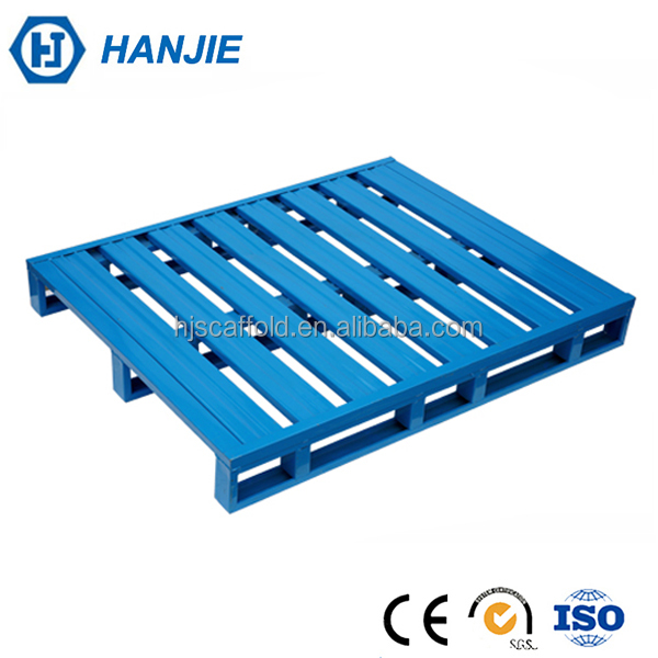 Factory manufacturers welded galvanized iron stacking steel pallets