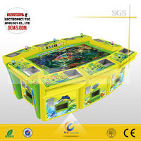 Hot sale gambling machine for arcade fishing game machine with Bill Acceptor