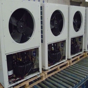 Air source heat pump 16KW single phase 220V for private house CAR-16XB