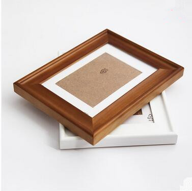 High grade eco-friendly pine solid wood photo frame for sale