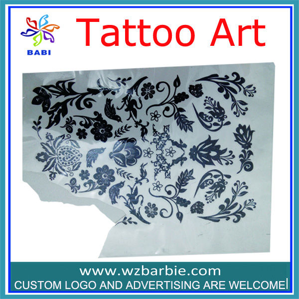 custom fashion design Good quality temporary tattoo sticker