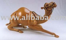 Leather Kneeling Camel for 20 feet container