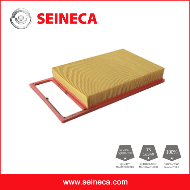 Auto engine part air filter 51857956 for Fiat car