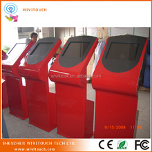 "17/19"" public touch LCD Standing Indoor Touch Kiosk reporting"